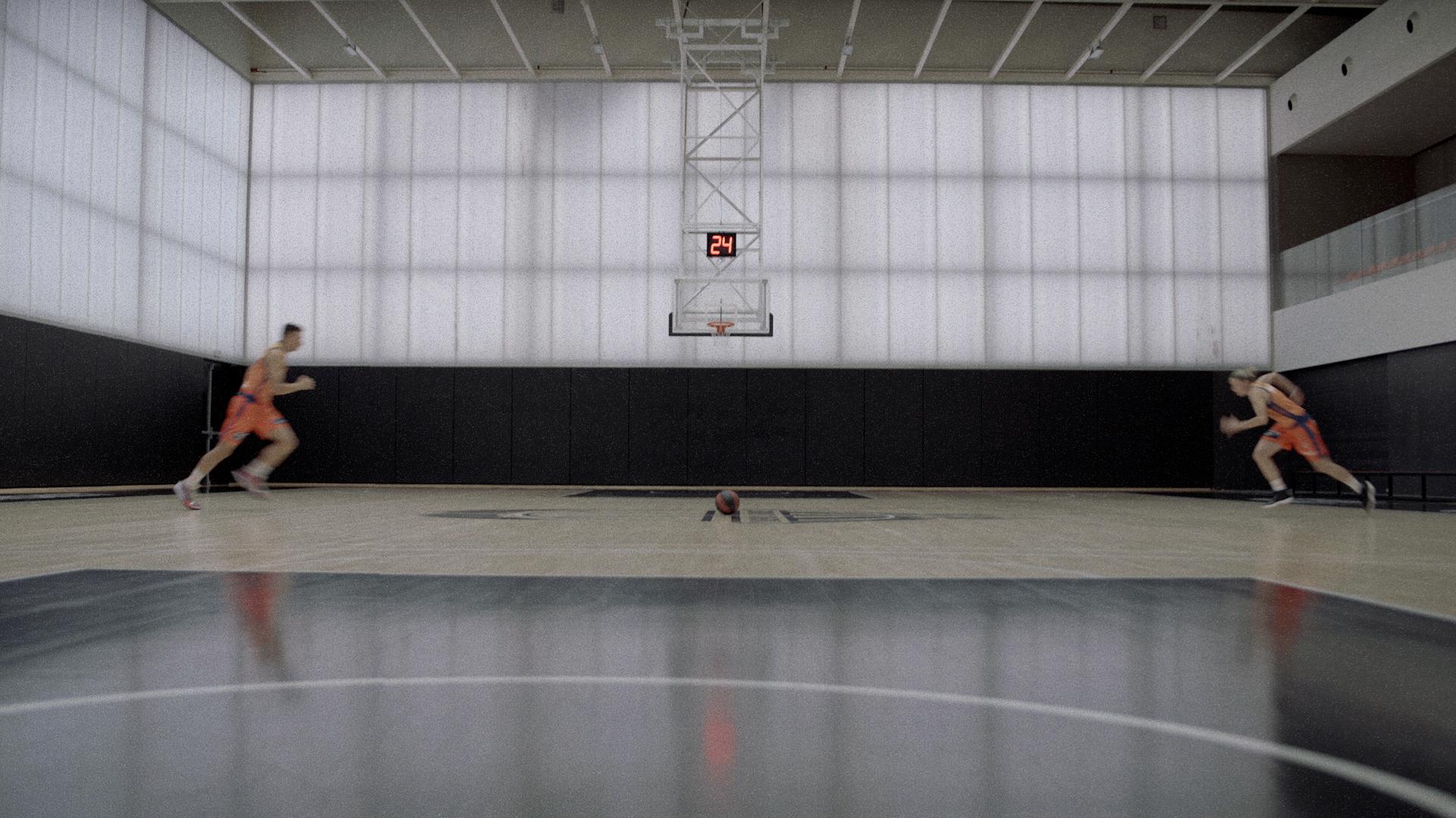 Atraer la atención de los aficionados de baloncesto
